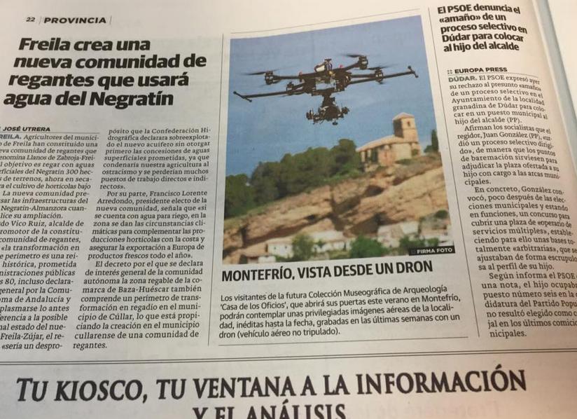 dron granada